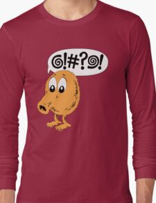 Retro Video Game Qbert T-Shirt Long Sleeve T-Shirt