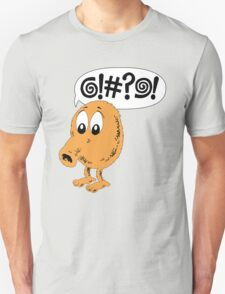 Retro Video Game Qbert T-Shirt T-Shirt