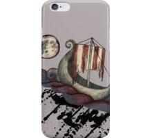 Lunar Viking Voyage iPhone Case/Skin