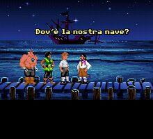 Dov'è la nostra nave? (Monkey Island 1) by themasrix
