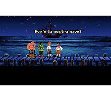 Dov'è la nostra nave? (Monkey Island 1) Photographic Print