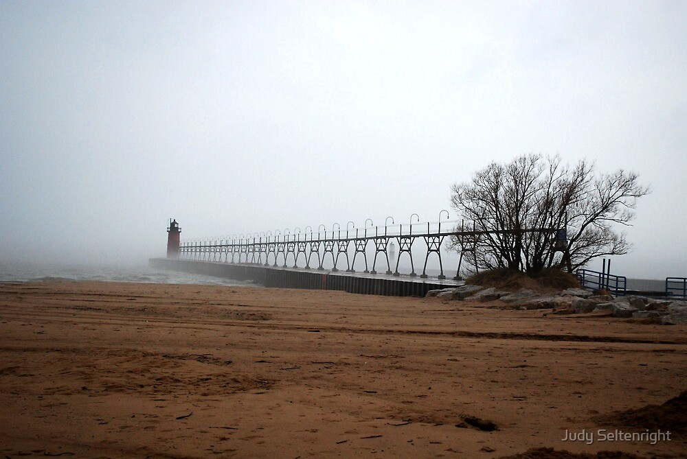 Foggy New Years Eve by Judy Seltenright