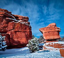 balanced rock by Kevin Williams