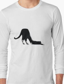 Shoe/Cat Long Sleeve T-Shirt
