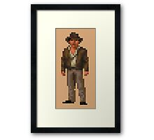 Indiana Jones and The Fate of Atlantis #01 Framed Print