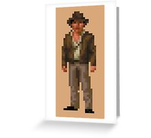 Indiana Jones and The Fate of Atlantis #01 Greeting Card