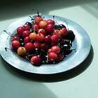 Mixed summer cherries by Kiriel