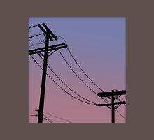 Power Lines: Purple version Unisex T-Shirt
