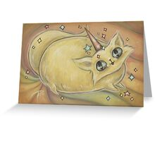 Kitty Mew Greeting Card