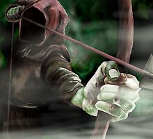 Robin the Hooded Man - Sherwood Forest, Robin Hood, Archer, Nottingham by ImogenSmid