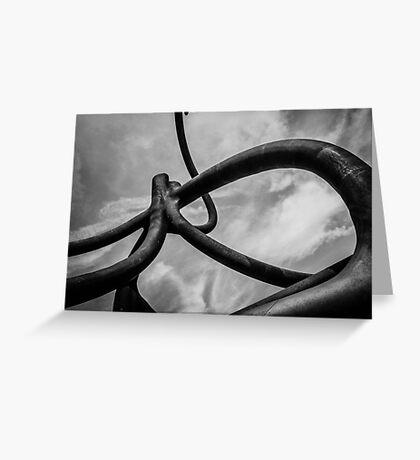 Art sculpture  Greeting Card