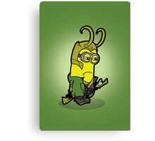 Minvengers - Moki Prince of Mischief Canvas Print