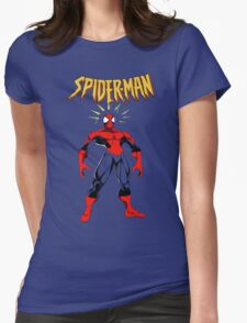Spiderman Womens Fitted T-Shirt