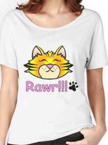tiger baby RAWR Women's Relaxed Fit T-Shirt