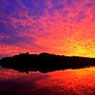 Fire Sky by John Brumfield