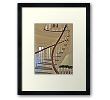 Old State House Staircase Framed Print