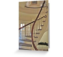 Old State House Staircase Greeting Card