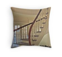 Old State House Staircase Throw Pillow