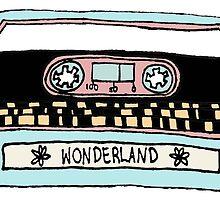 wonderland casette by infinite-tardis