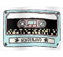 wonderland casette Poster