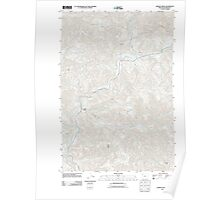 USGS Topo Map Oregon Jordan Creek 20110906 TM Poster