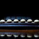 Guitar Bridge at Night by Paul Benjamin