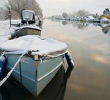 Gloucester and Sharpness Canal by Steve  Liptrot