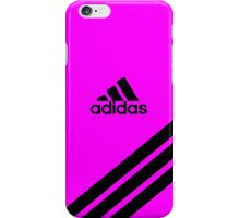 Adidas Pink with black stripe iPhone Case ,Casing 4 4s 5 5s 5c 6 6plus Case - Adidas Pink with black stripe Samsung case s3 s4 s5 iPhone Case/Skin