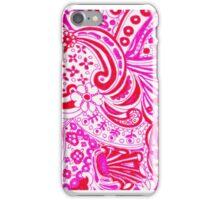 Pink 70's Retro iPhone Case/Skin