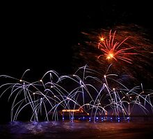 New Year Fireworks by Norfolkimages