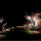 Firework Display by Norfolkimages