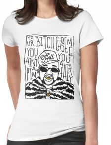 Pimp C Womens Fitted T-Shirt