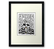 Pimp C Framed Print