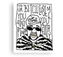 Pimp C Canvas Print