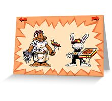 Sam & Max #01 Greeting Card