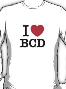 I Love BCD T-Shirt