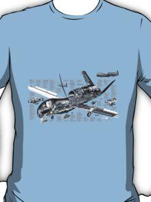 Drone - 'Global Hawk' Cutaway. T-Shirt