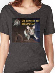 did someone say biscuits? Women's Relaxed Fit T-Shirt