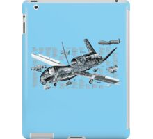 Drone - 'Global Hawk' Cutaway. iPad Case/Skin