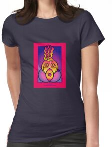 pachamama, our blessed earth mother... Womens Fitted T-Shirt