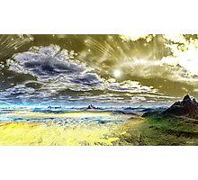 """YELLOW HAVEN OF WISDOM"" Photographic Print"
