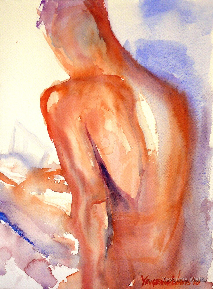 A Portrait A Day 39 - Reading by Yevgenia Watts