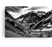 Aconcagua Mountain Canvas Print