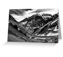 Aconcagua Mountain Greeting Card