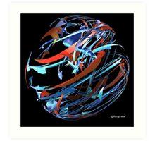 Multi-color Ball Art Print