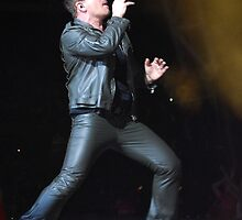 Bono in Melbourne by Ron Hannah