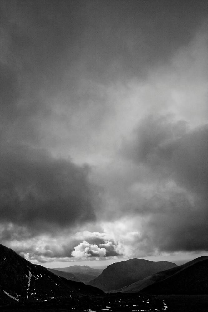 Half Way up Mount Snowdon by Adam Costello
