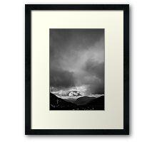 Half Way up Mount Snowdon Framed Print