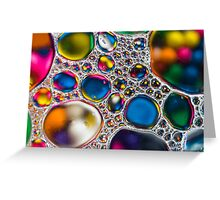 Oil & Water 4 Greeting Card