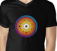 the precious ones... a sacred drum design... Mens V-Neck T-Shirt